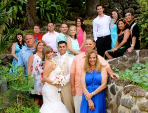 Vow Renewal family photo