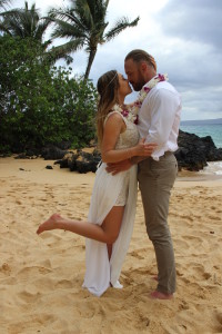 Romantic Hawaii Vow Renewal