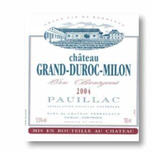 Chateau Grand Duroc Milon
