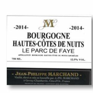 Bourgogne Hautes Cote de Nuits