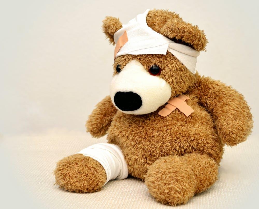 Teddy Bear Owie