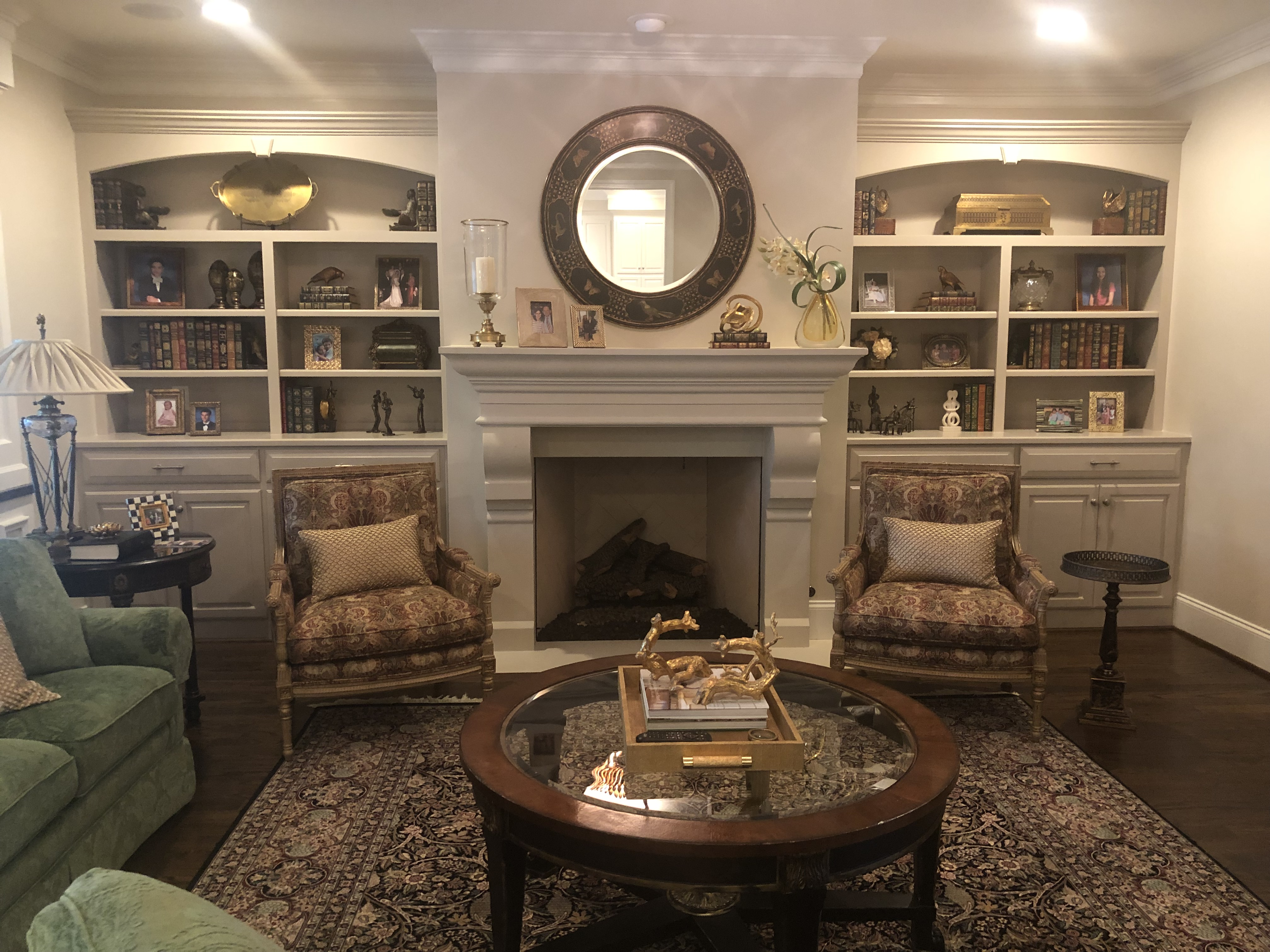 Refinished Built-ins