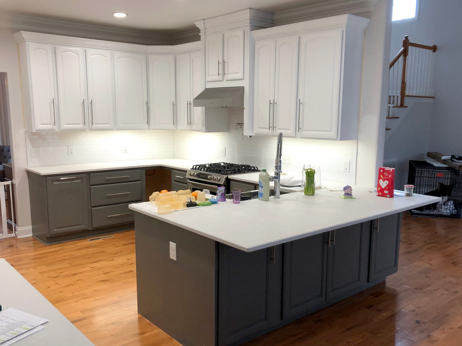 Two-tone cabinets kitchen wish list must haves of 2019