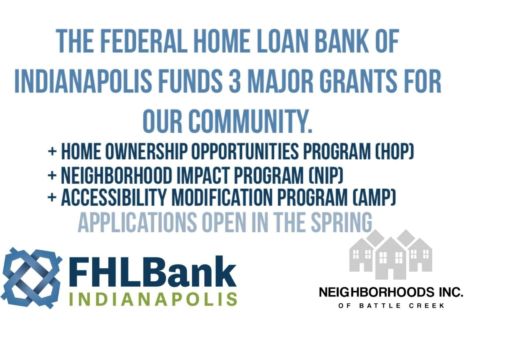 FHLBI Grant Info