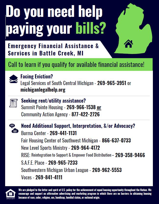 Need help paying bills