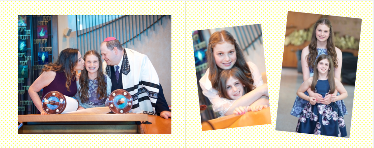 Sophie's bat mitzvah