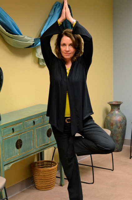 Dr. Susan O'Grady, RYT200 Yoga therapist and Psychologist