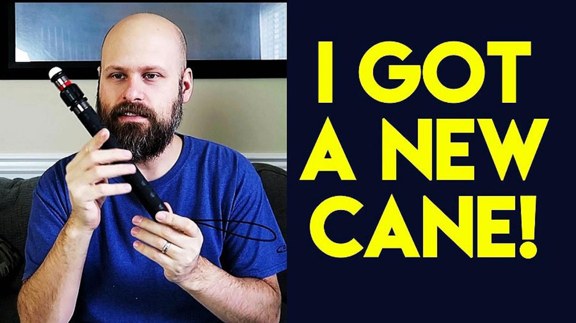 Sam Seavey reviews a new mobility cane