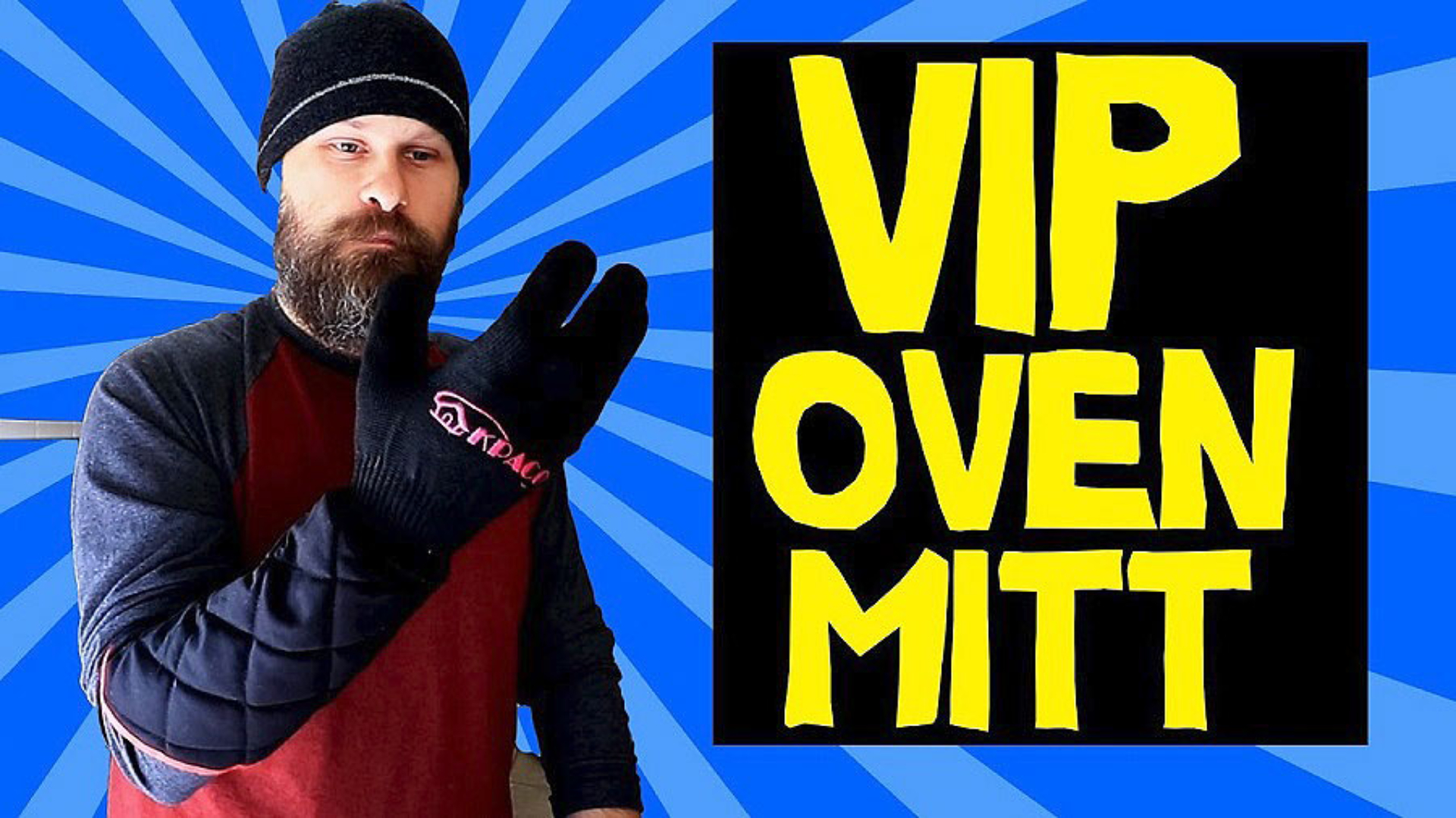 Sam Seavey reviews a VIP Oven Mit