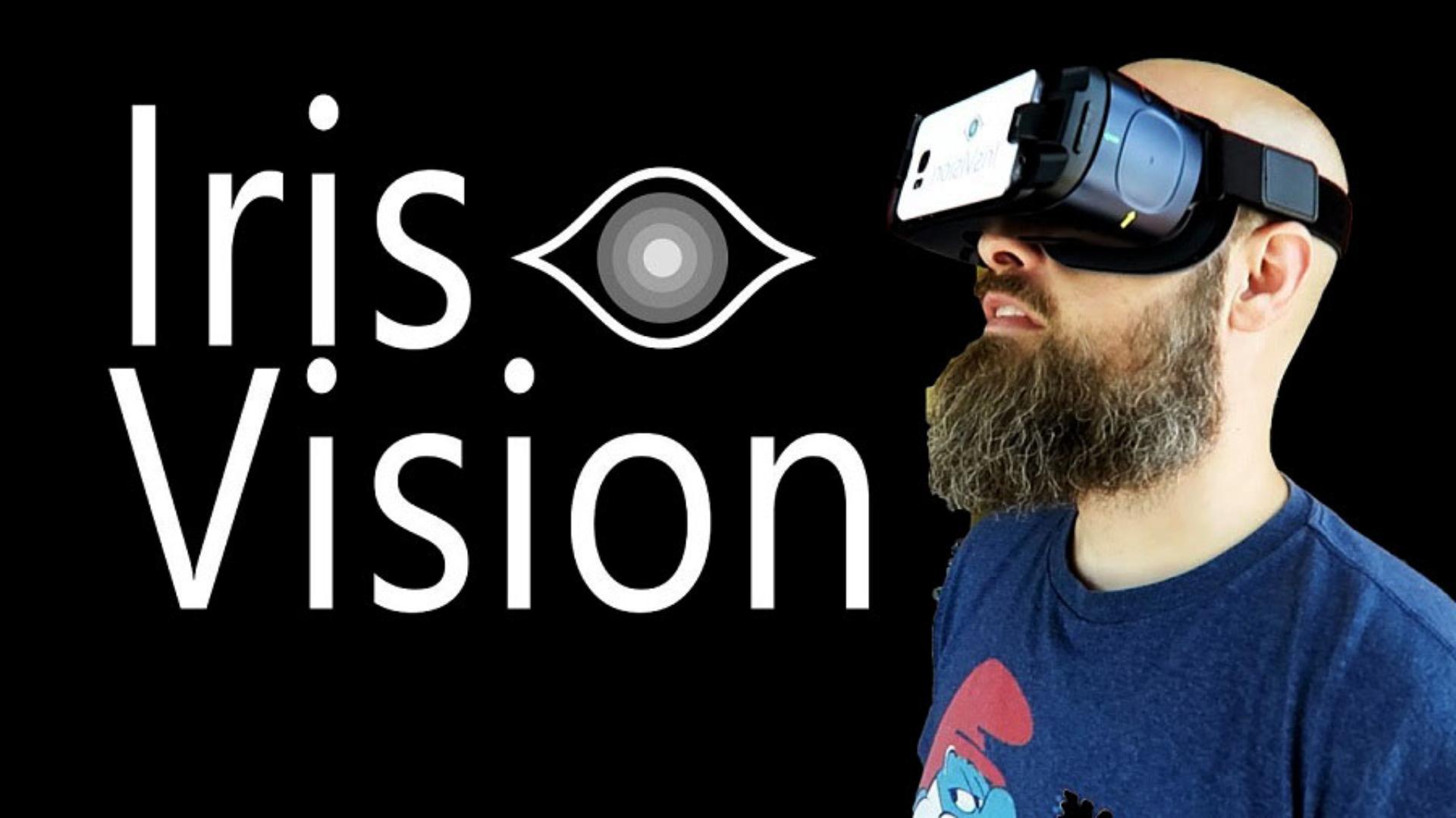 Sam Seavey Reviewing the Iris Vision