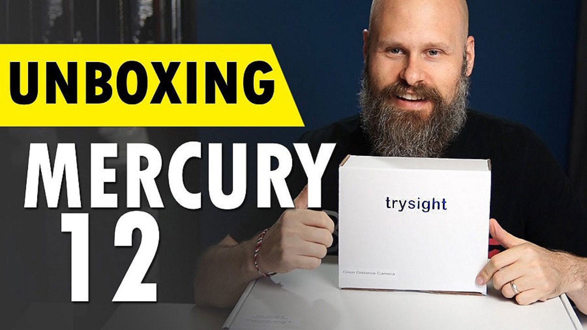 Sam Seavey unboxing the Mercury 12