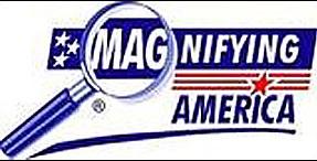 magnifying America logo