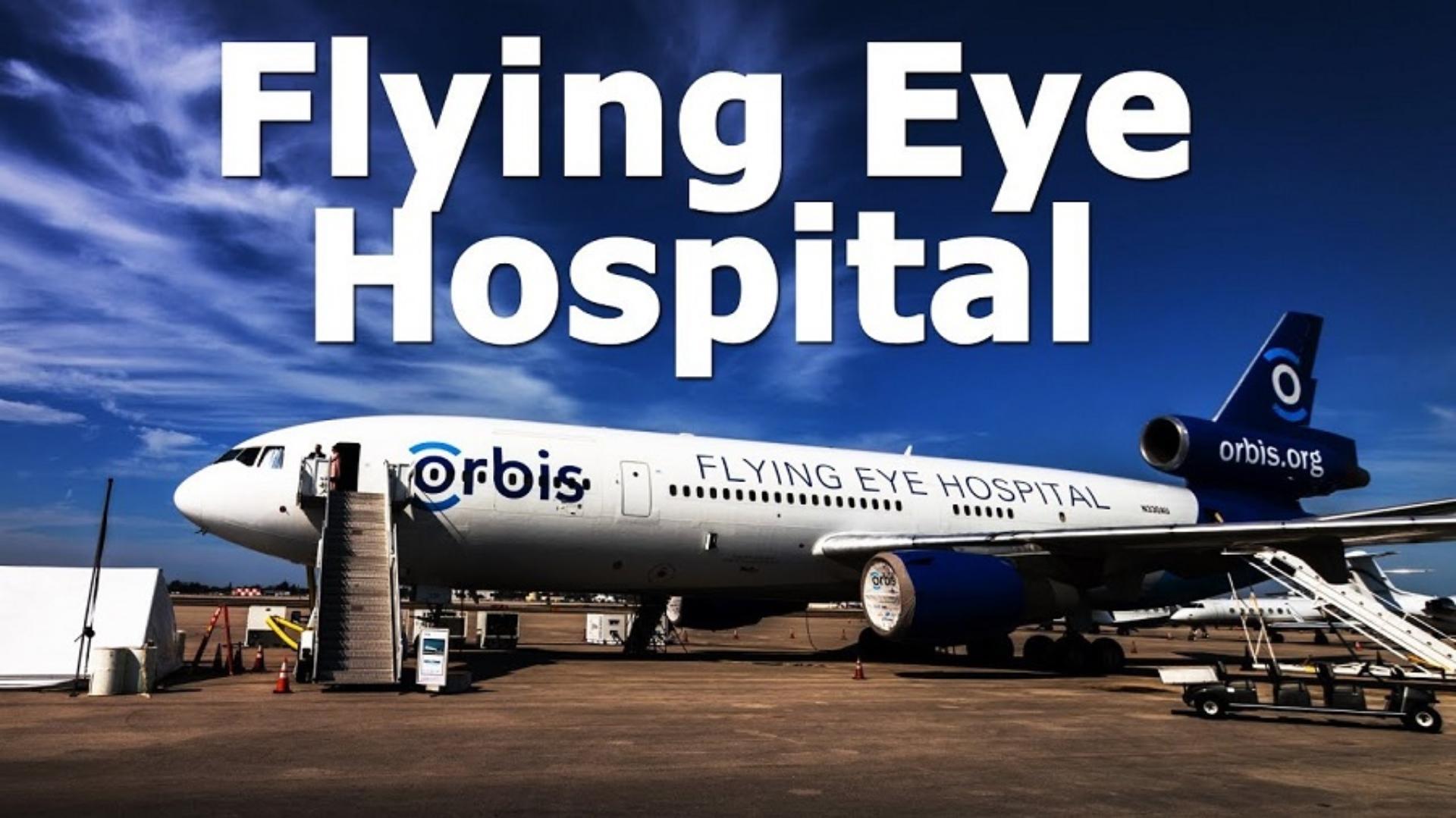 Flying Eye Hospital Jet Plane