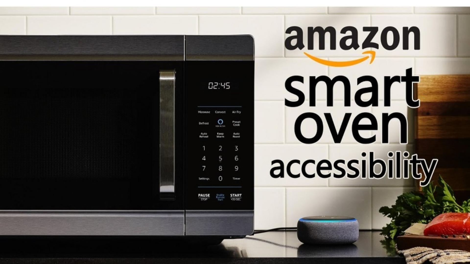 Amazon Smart Oven accessibility