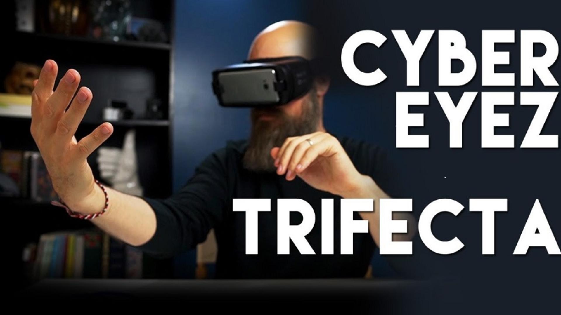 Sam with the Cyber Eyes Tri-Fecta