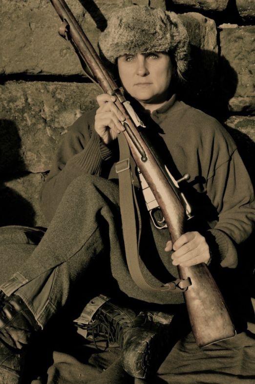 Red Army Female Sniper