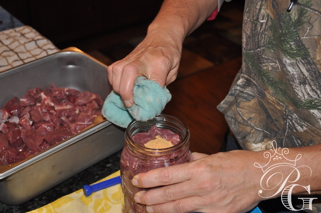 Venison-canning-seasoning canning venison