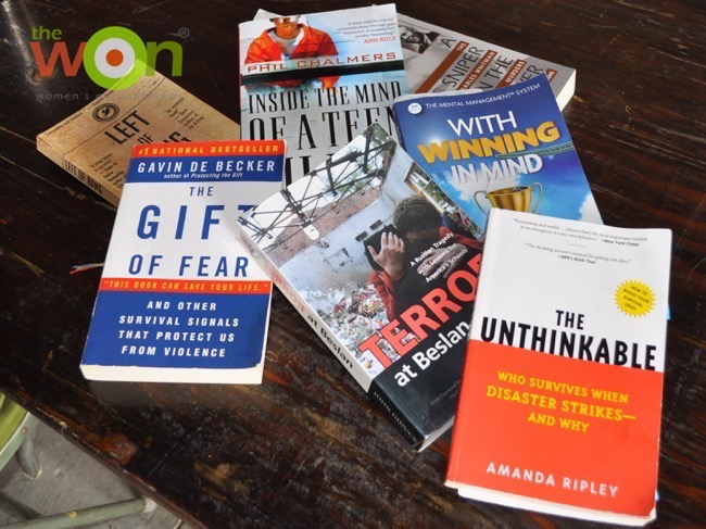 Mindset books FASTER personal safety