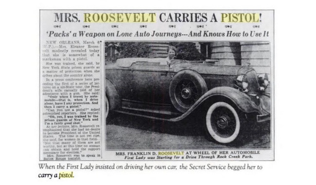 Eleanor Roosevelt Newspaper