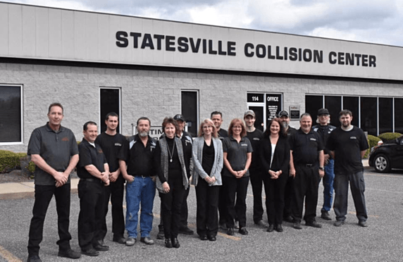 Statesville collision center employees