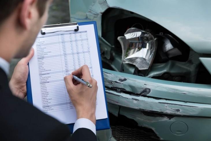 Insurance repair estimate