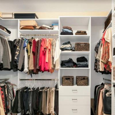 Master Walk-in custom closet system chattanooga