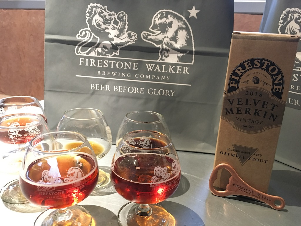 Soaking in Adventure between Holidays at Firestone Walker Brewery