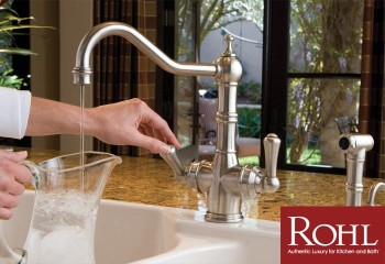 Rohl Faucets - Classic, Elegant and Available at the Plumbing Place in Sarasota