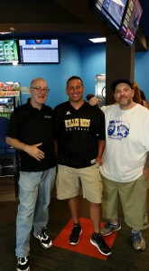 Left to Right: Scott Engel, Brian Ambos, and yours truly.