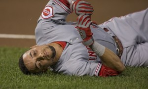 Billy Hamilton has the wheels, but ithey don't work if he's not on base.