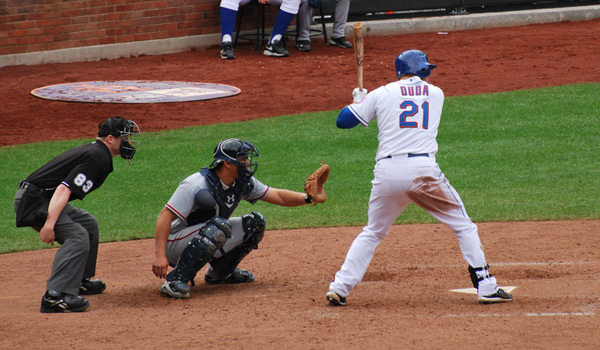 Jose Bautista, Chris Carter and Matt Kemp are the only batters to hit more home runs in the second half of 2014 than Lucas Duda's 16. Photo Credit: SLGCKGC