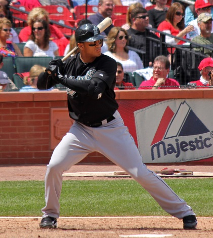 Where does Giancarlo Stanton go in Mixed LABR?