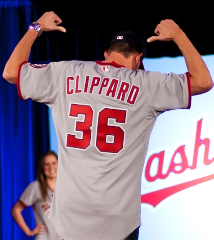 Tyler Clippard is among the top sleepers who might get to close games.