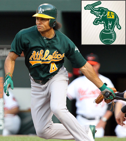 2015 Oakland Athletics - Coco Crisp-Keith-Allison