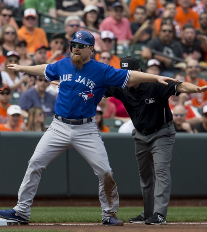 Platoon Differential is a major factor in using Adam Lind in Daily Fantasy Baseball.