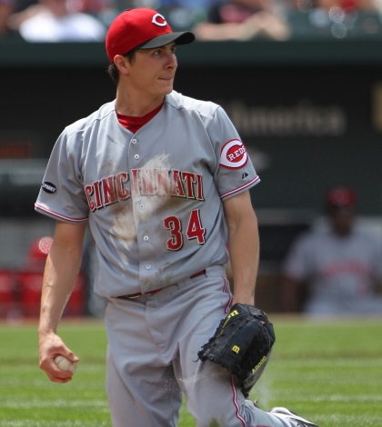 Homer Bailey has been all over the starting pitcher rankings.