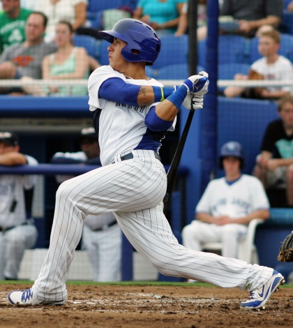 Javier Baez, Kris Bryant and the Baby Cubs brought out the boom in Tuesday's Cactus League action.
