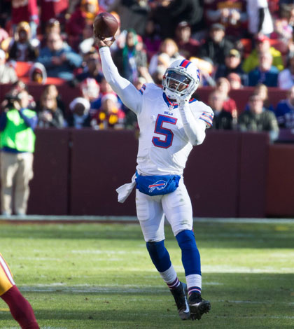 Tyrod Taylor - 2016 Fantasy Football sleeper quarterbacks