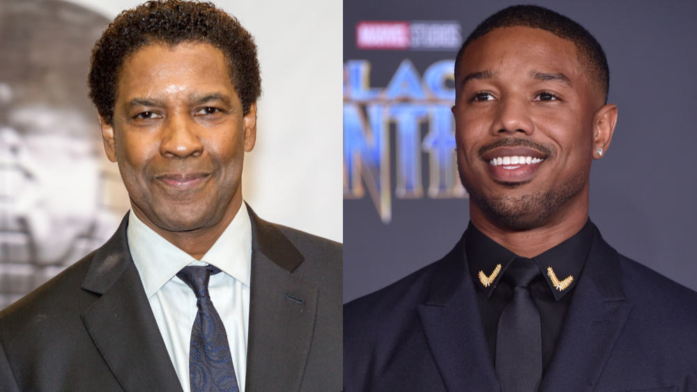 Michael B. Jordan Stars in Denzel Washington's New Film