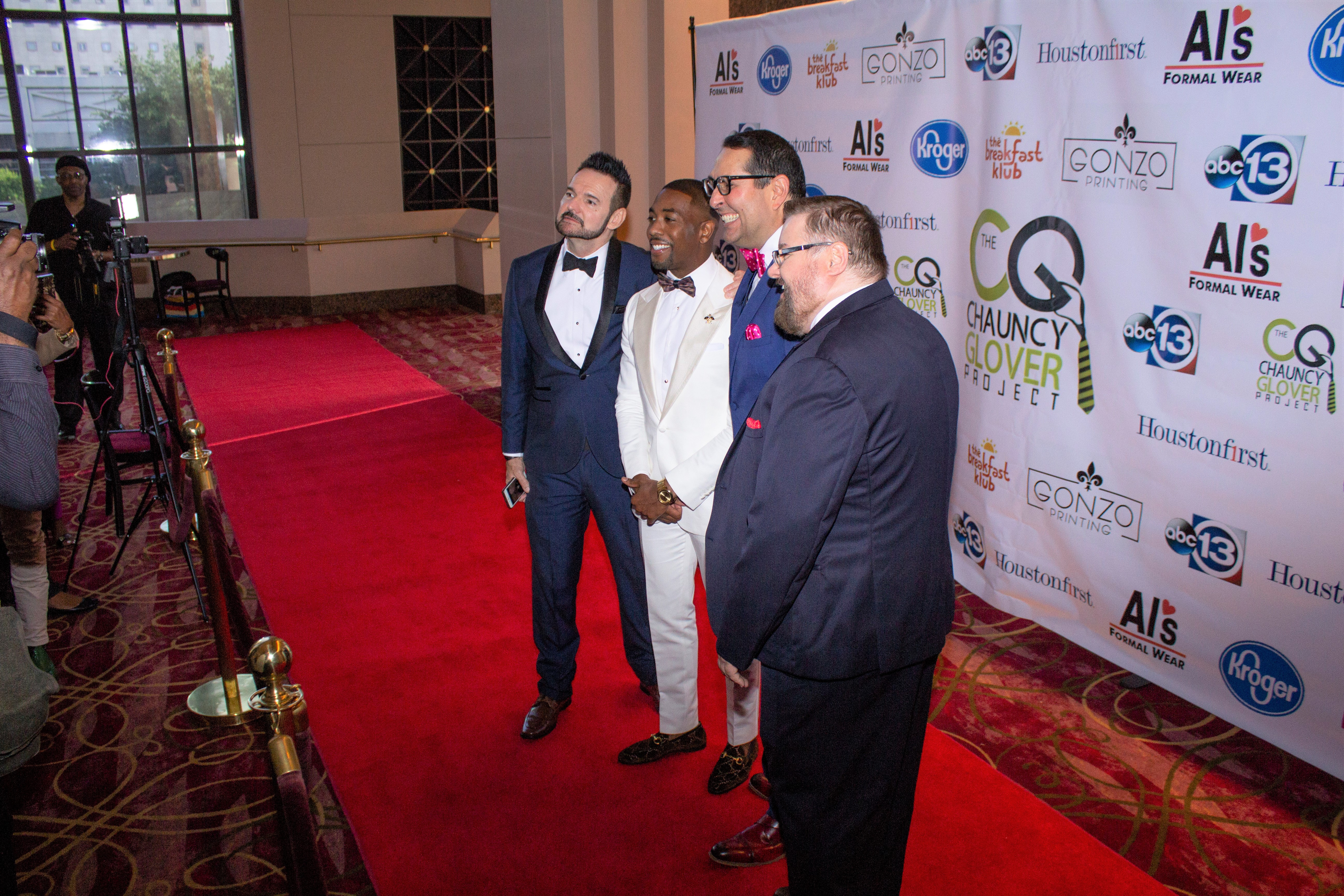 "The Chauncy Glover Project ""3rd Annual Black Tie Gala"" Red Carpet"