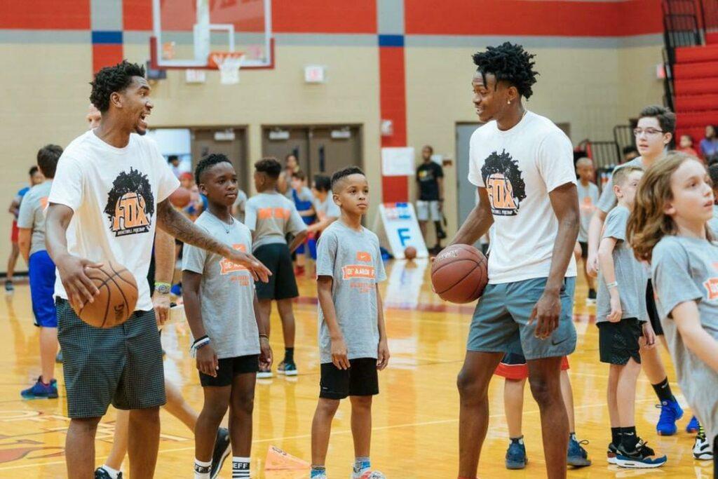 De'Aaron Fox Basketball ProCamp