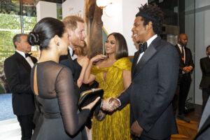 Royal Couple & Beyonce and Jay Z