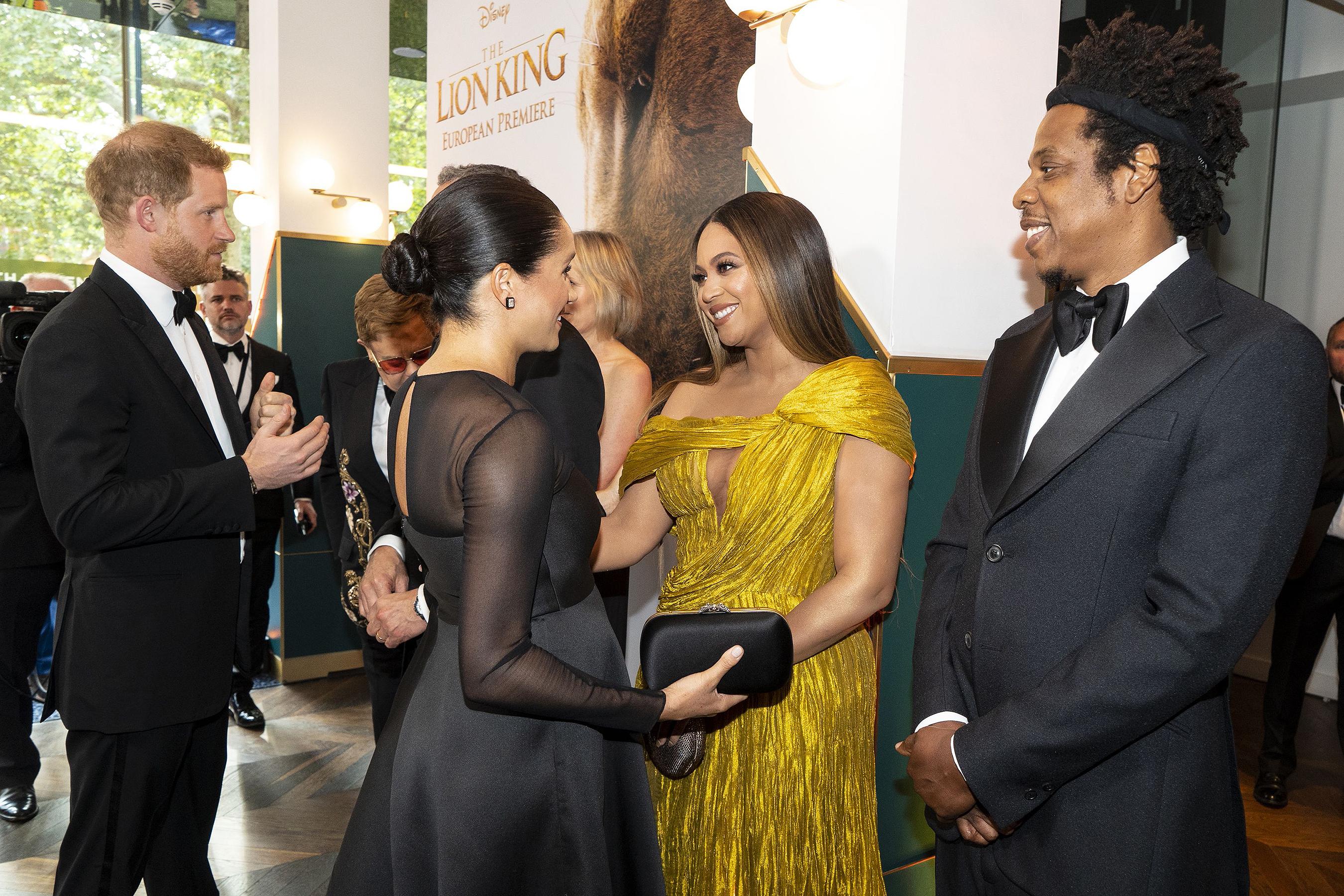 "Beyonce calls Meghan ""My princess"""