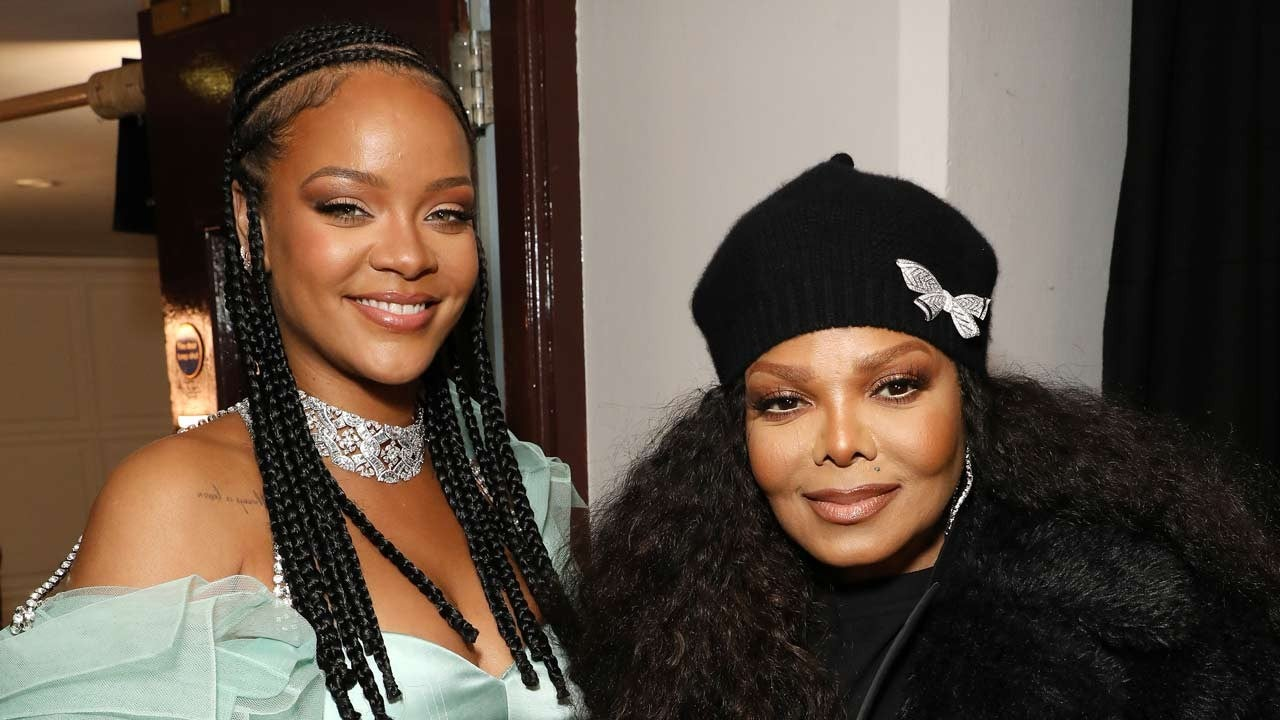 Janet Jackson Presents Rihanna With Her First Fashion Award for Fenty Line