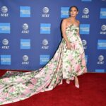 Jennifer Lopez's First Red Carpet Look Welcomes Spring Fashion