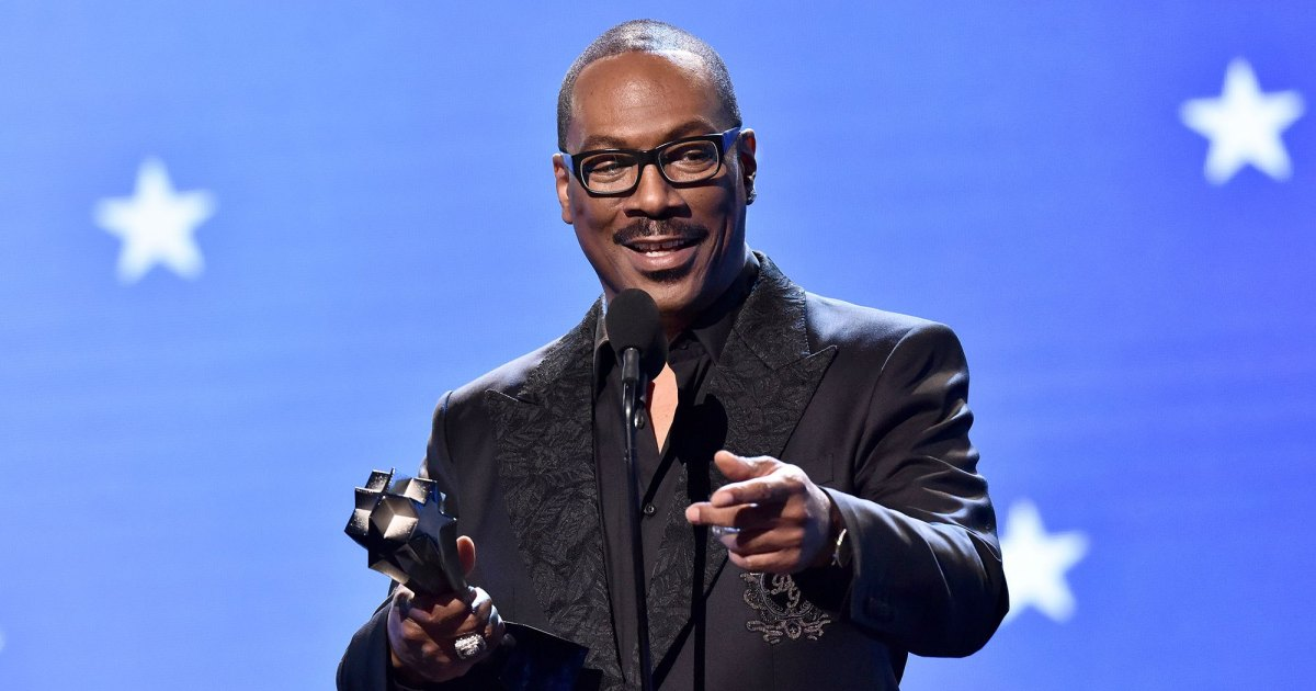 Eddie Murphy Accepts Lifetime Achievement Honor at Critics' Choice Awards
