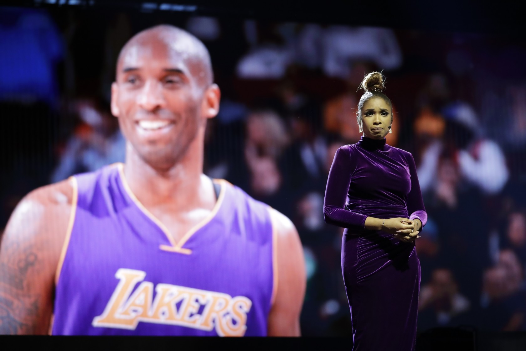 Jennifer Hudson and More Pay Tribute to Kobe Bryant at NBA All-Star Game