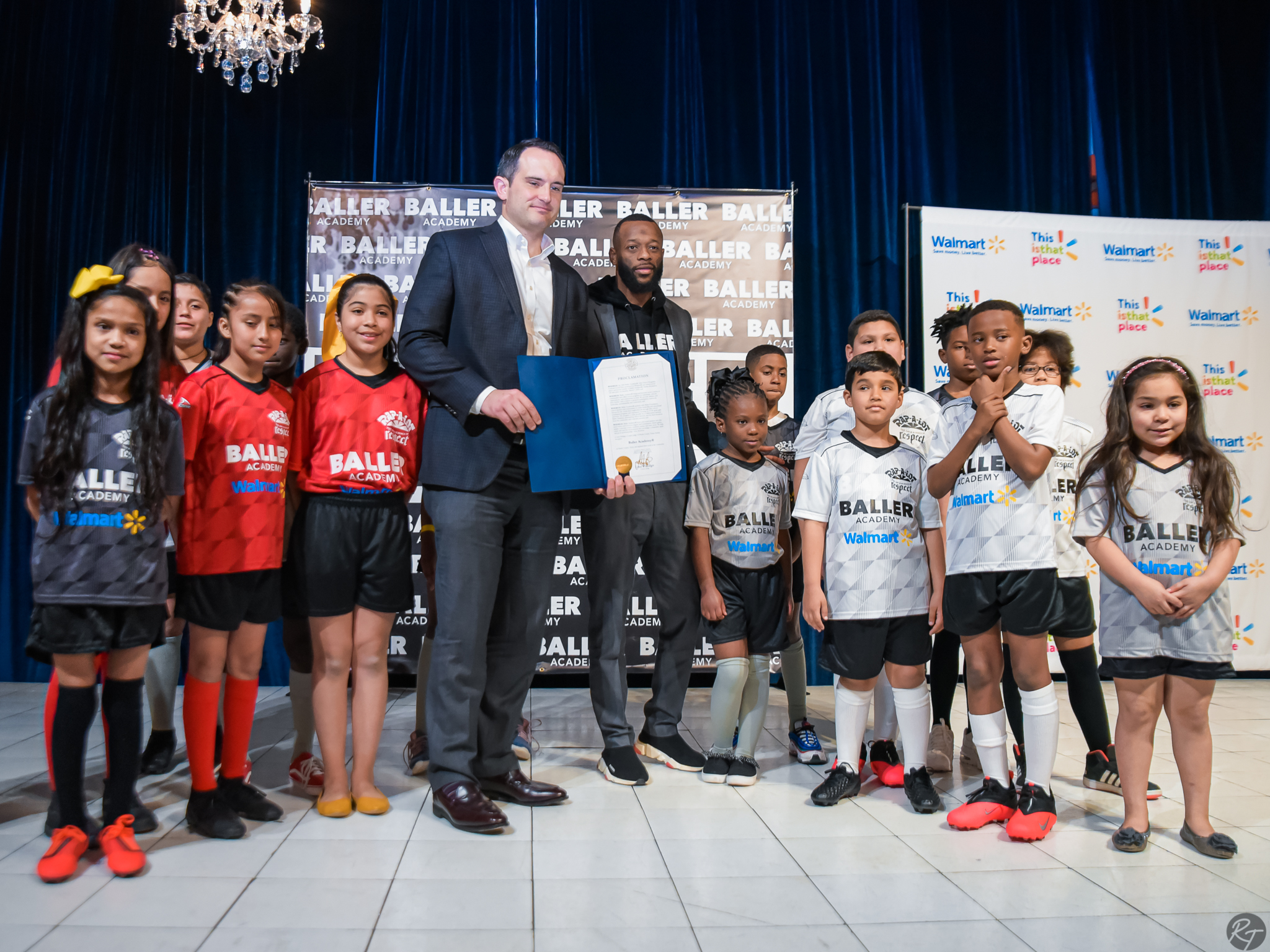 Local Sports Foundation: Baller Academy Teams up with Walmart for Uniform Unveiling Party