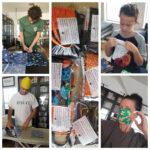 Houston Woman and Sons Create Face Masks to Help Coronavirus Community