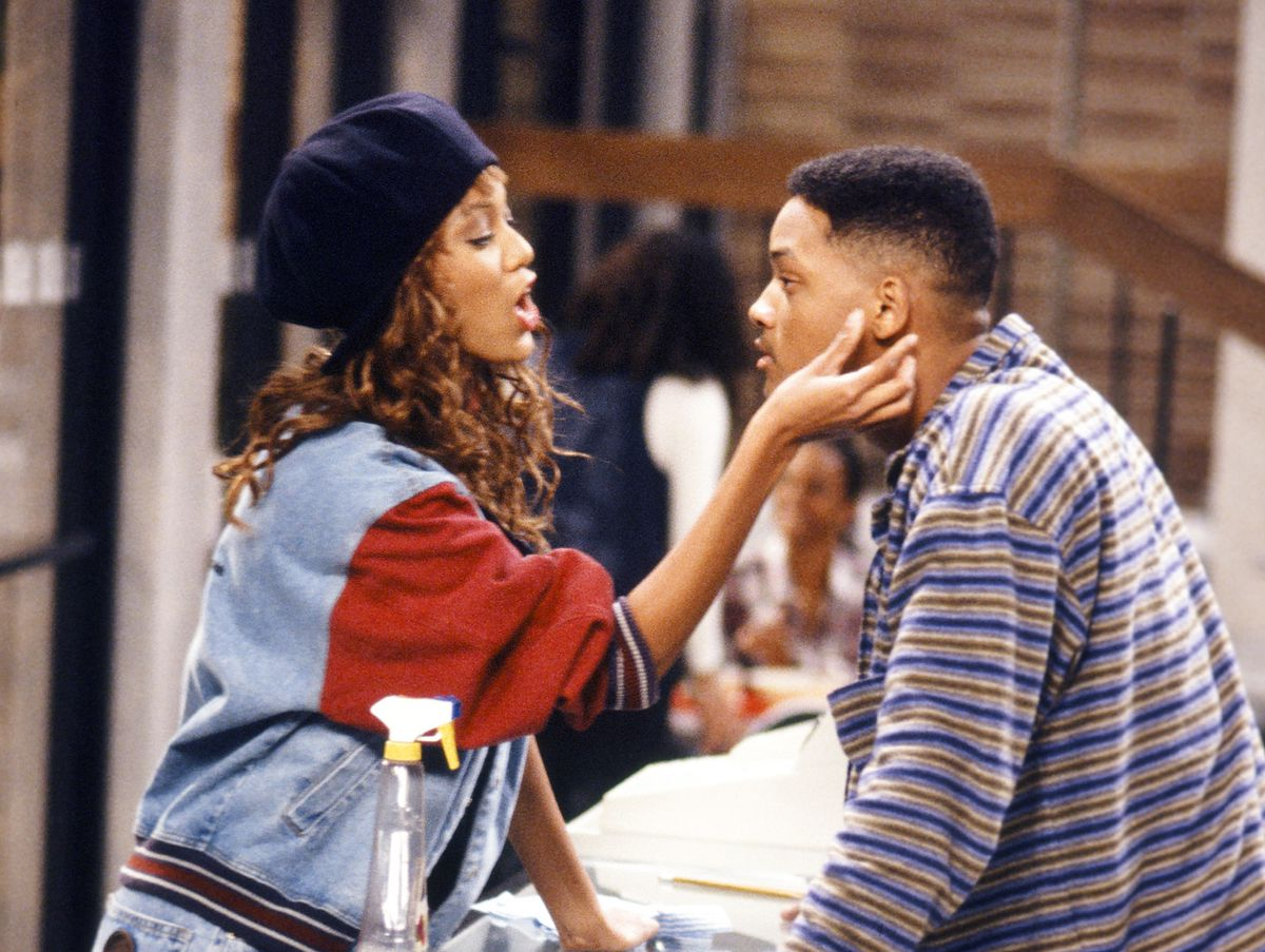 Will Smith and Tyra Banks Recreate Scene from 'Fresh Prince of Bel-Air'